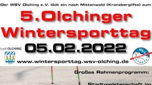 5. Olchinger Wintersporttag @ Skilifte am Kranzberg